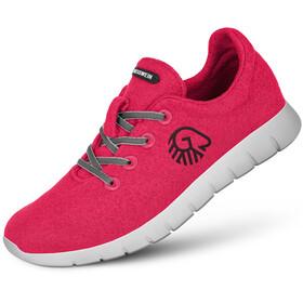 Giesswein Merino Wool Runners Dames, rubin